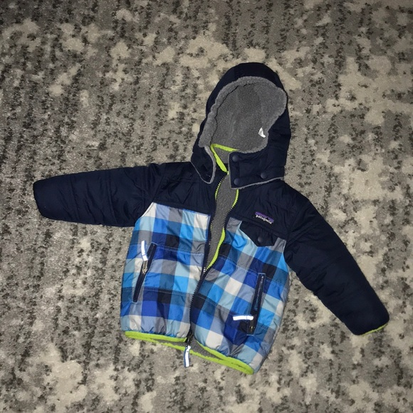 Patagonia Other - Reversible boys winter coat